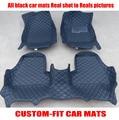 Custom fit auto fußmatten rechtslenker für KIA K3 Sportage R Sorento RIO Koup Seele Cerato Opirus forte Borrego auto styling-in Fußmatten aus Kraftfahrzeuge und Motorräder bei