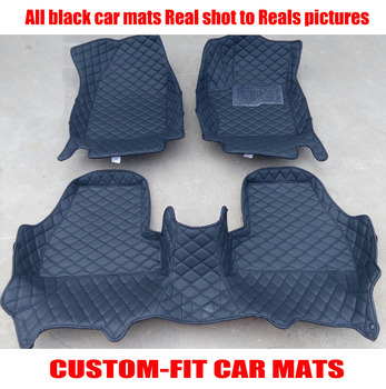 Custom fit car floor mats right hand drive for KIA K3 Sportage-R Sorento RIO Koup Soul Cerato Opirus Forte Borrego car-styling