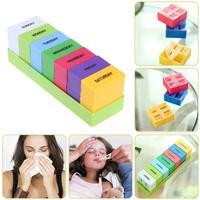 Portable 7 Day Weekly Pill Box Medicine Storage Tablet Organizer Container Case Jewelry Organizer Storage Box