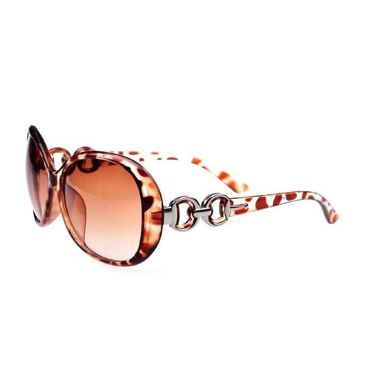 New style 2015 Brand Name Women Sunglasses Elegant Large ...