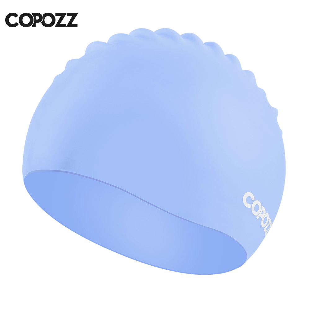 Copozz Elastic Silicon Rubber Waterproof Protect Ears Long H