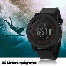 цена на LED Watch Digital Retro Sports Casual Display Date Unisex Males Quartz Watch Electronics Men Clock Wristwatch Relogio Masculino