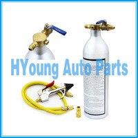 HVAC auto Klimaanlage System Flush Kanister Gun Kit R134 R12 R22 R410 R404  klimaanlage system sauber werkzeuge-in A/c Kompressor & Kupplung aus Kraftfahrzeuge und Motorräder bei