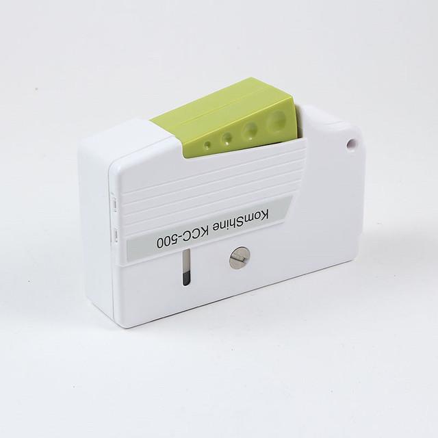 3 unids/lote fibra óptica alta calidad cara virola limpiador interfaz puede ser reemplazado con núcleo de limpieza de fibra más caja
