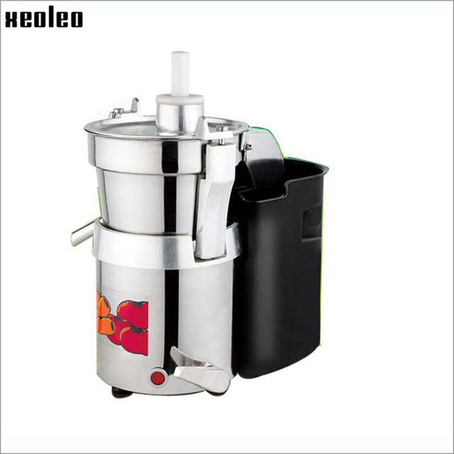 XEOLEO Electric Juice machine Fruit and vegetable juicer 750W Fresh Fruit Juicing Machine Commercial juicer220V/2800r/min
