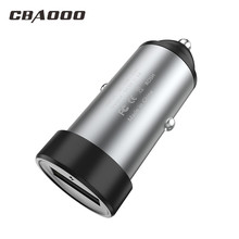 Mini USB Car Charger For Mobile Phone Tablet GPS 2A Fast Car-Charger Adapter in for iPhone