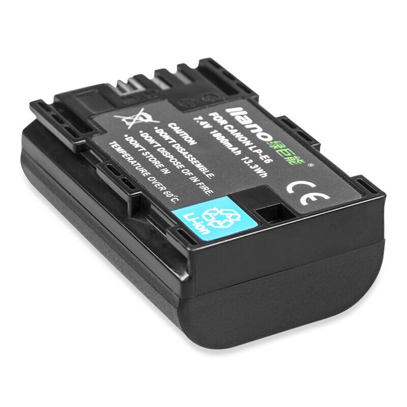 Batterie appareil photo pour Canon EOS 5DS R 5D Mark ii 7D Mark ii 7D2EOS 60D EOS 7D 6D 70D 60Da batterie appareil photo reflex