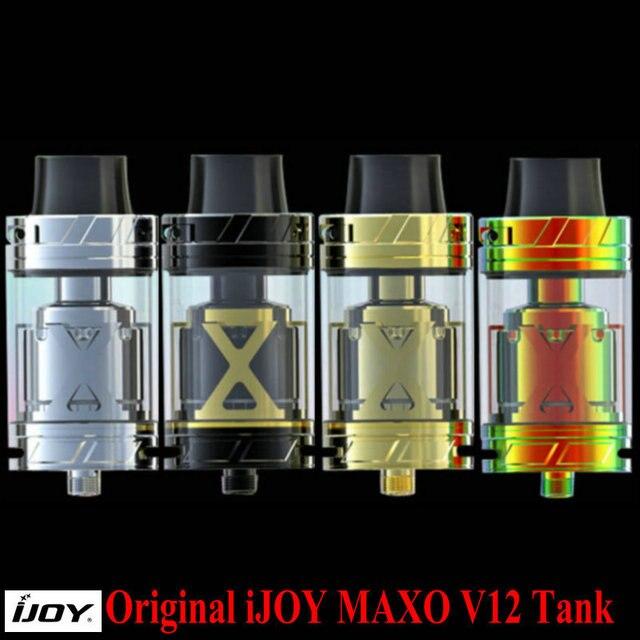 Оригинал IJOY MAXO V12 Танк 5.6 мл Вариант V12-RT6 Палубе XL-C4 Катушки Электронная Сигарета Распылитель Испаритель для IJOY Окно Мод жидкостью vape