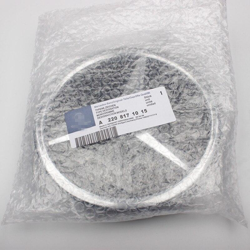 1 pièces qualité supérieure Brillant Miroir Finition Étoiles Badge Center Emblème Pour Mercedes Benz Lumineux Universal A/B/C /E/CLA/GLA/CLS