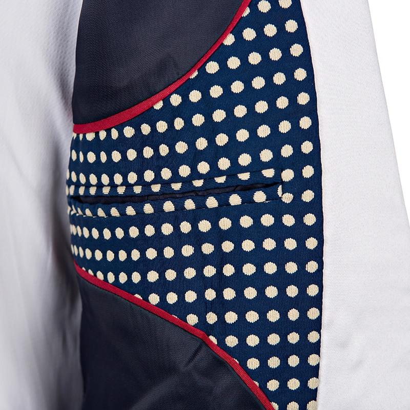 nové módní vysoce kvalitní pánské kalhoty oblečení - Šaty pro svatební hostiny - Fotografie 2