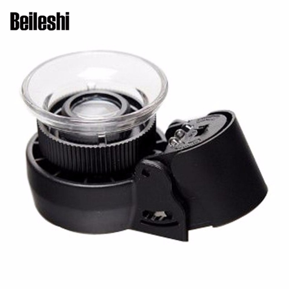 Beileshi LED Illuminated Professional 30X Triplet Jewelers Loupe Magnifier with Lighted Stand and UV Black Light portable handheld 30x 21mm triplet loupe jeweler loupe magnifier w white led lights uv lighting led