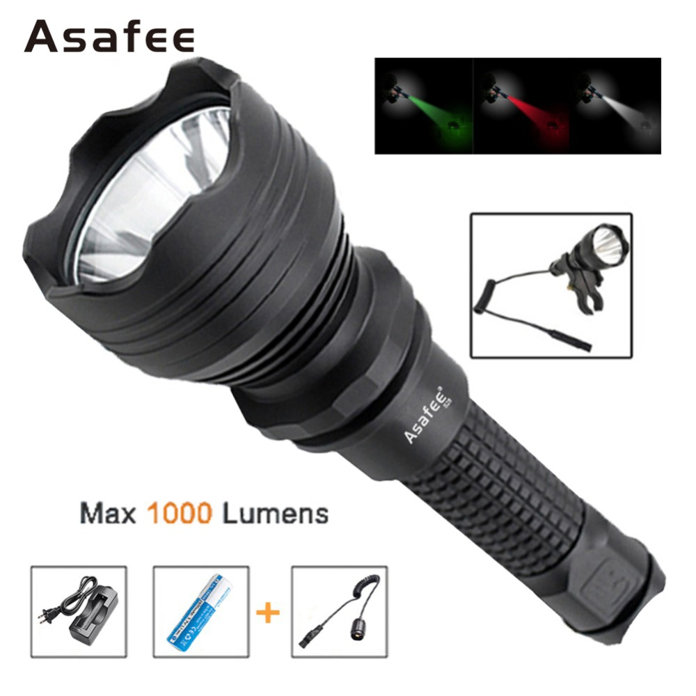 Asafee S28 Outdoor Military Torch Light Cree XM-L2 U4 LED Police Search and Rescue Flashlight with 18650 Battery and ChargerAsafee S28 Outdoor Military Torch Light Cree XM-L2 U4 LED Police Search and Rescue Flashlight with 18650 Battery and Charger