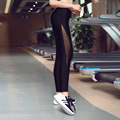 The new 2017 sports tights female nine points pants running fitness yoga pants ms quick-drying compression pants