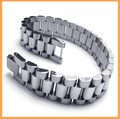 High Quality 316L Stainless Steel Clasp Watch Band Bracelet for Men Best Gift