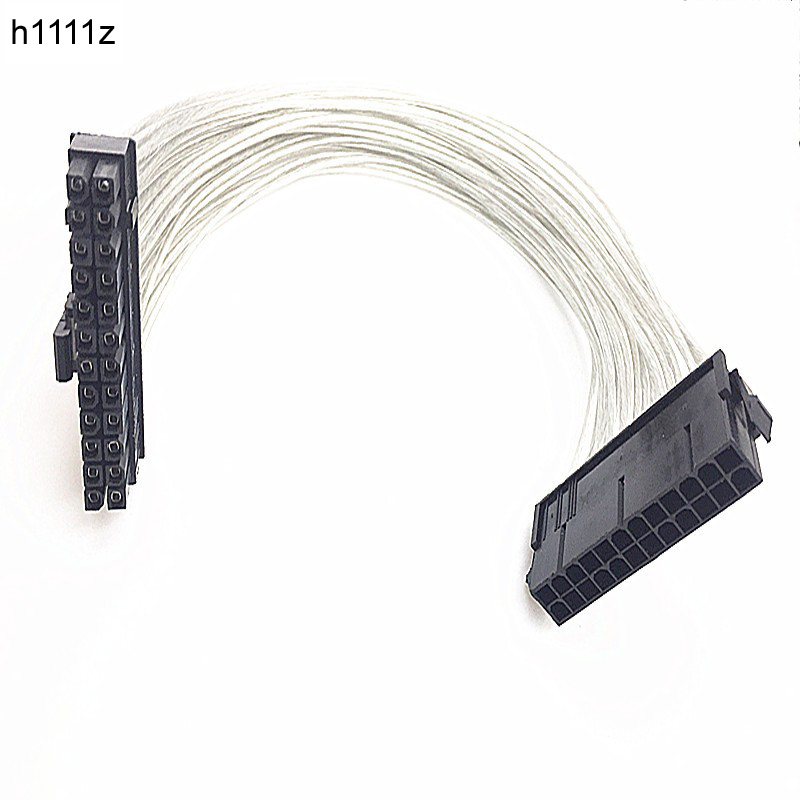 ATX 24 Pin Male to <font><b>24Pin</b></font> Female Power Supply <font><b>Extension</b></font> <font><b>Cable</b></font> Internal PC PSU TW Power Lead Connector Wire <font><b>24Pin</b></font> <font><b>Extension</b></font> <font><b>Cable</b></font> image