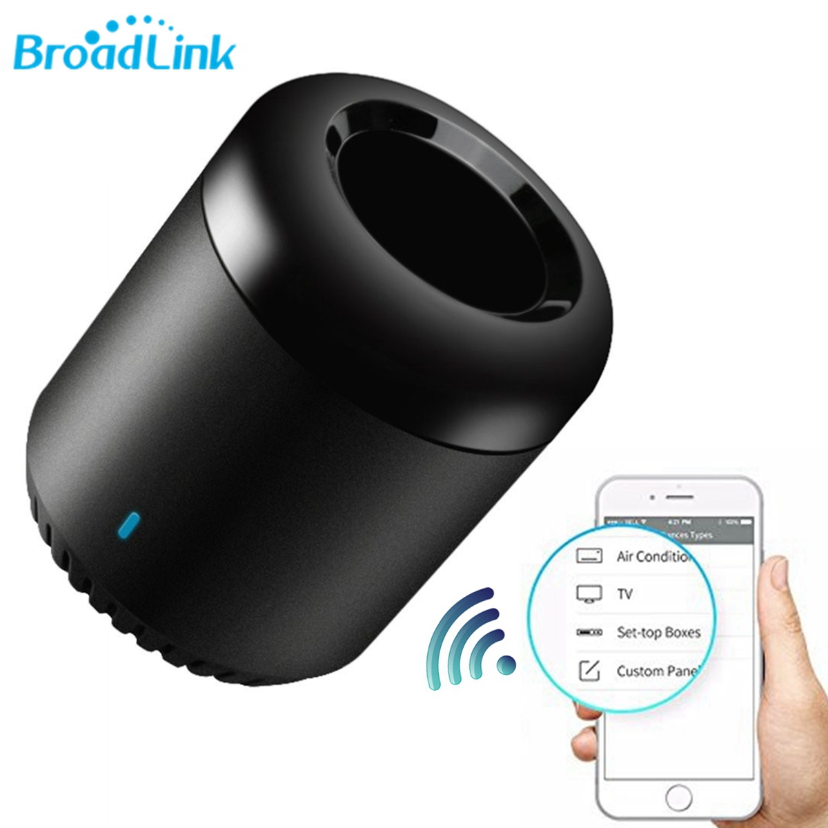 Broadlink NEW Upgrade RM Mini 3 Black Bean Smart Home WiFi Universal IR Smart Wireless Remote Controller Intelligent WiFi IR цена 2017