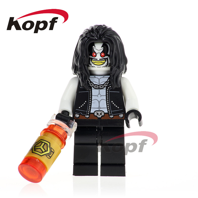 Single Sale Super Heroes Lobo Reverse-Flash Firestorm The Flash Lex-Luther Building Blocks Children Education Toys Gift XH 755 single sale building blocks super heroes bob ross american painter the joy of painting bricks education toys children gift kf982