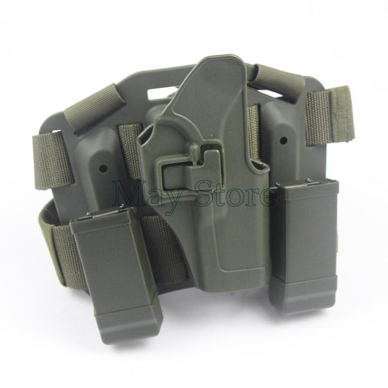 Prix pour Armée Vert Glock 17 Gun Accessoires CQCTactical Holster Leg Holster pour Glock 17 19 22 23 31 32