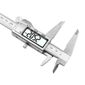 "Image 3 - 8"" 200mm Digital Caliper Stainless Steel  Digital LCD Caliper Vernier Caliper Shipping with Retail+Box"