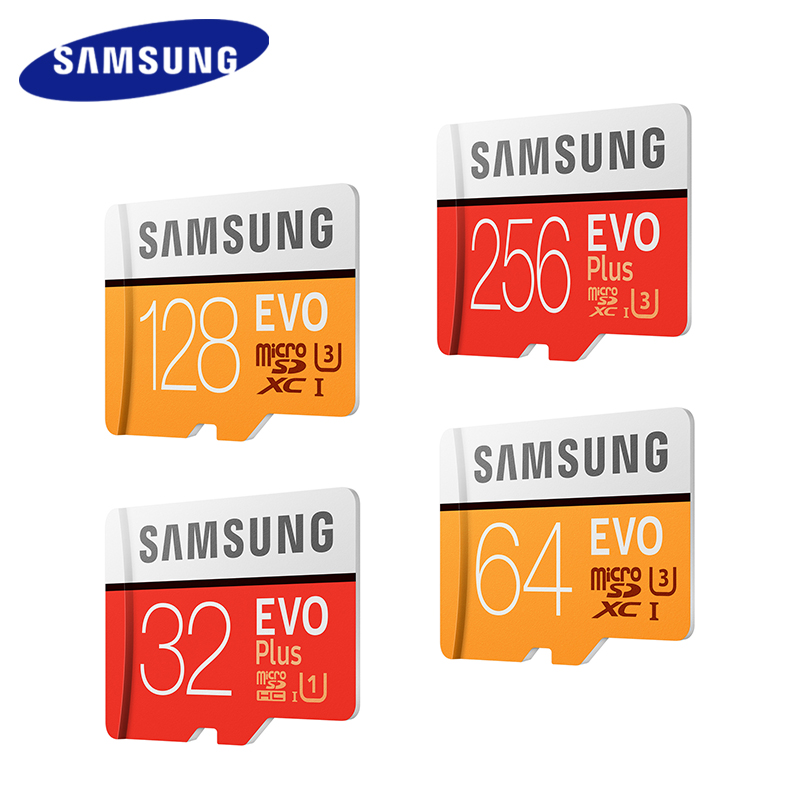 SAMSUNG TF Memory Card 256GB 128GB 64GB 32GB 100Mb/s Micro SD Card Class10 U3/U1 Flash Microsd Card for Phone with SDHC SDXC 2017 crazy hot micro sd card 64gb 128gb sdxc class 10 uhs i u1 memory card sdhc 8gb 16gb 32gb tf card microsd trans flash cards