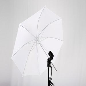 Image 2 - 1PC 33inch Photo Studio flash Soft Umbrella Translucent Photography Lighting Accessories