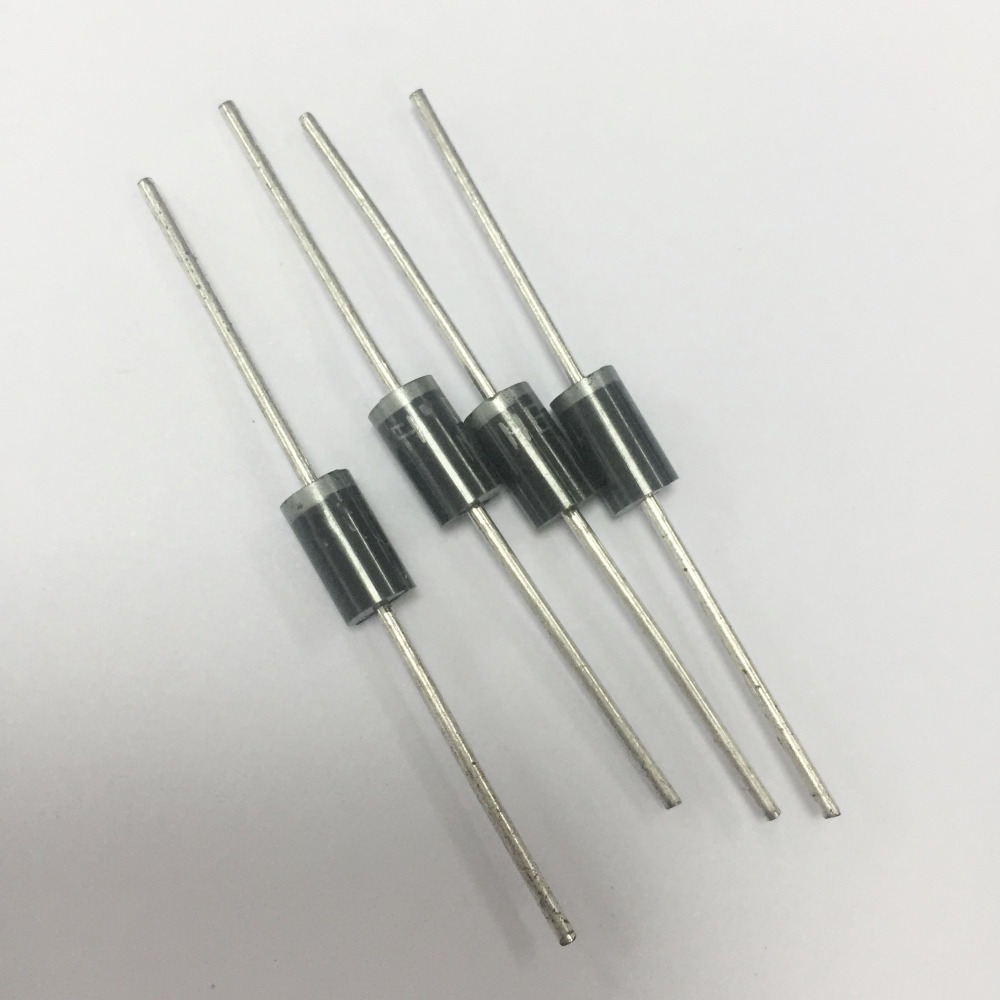 100pcs Rectifier Diode In4007 1n4007 1a 1000v Schottky Diodes Rectifiers Mounted On A Printed Circuit Boards For 1n5820 1n5821 1n5822 Sr360 Sr3100 Sr540 Sr560 Sr5100 Sf56 Sf58 Her302 Her303 Her304 Her305 Her306