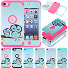 iPod Touch 7 Case,iPod Touch 6 Case Heavy Duty Protection Shockproof High Impact Armor Cover for Apple iPod Touch 5/6/7th Gen