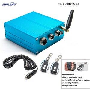 """Image 3 - 2 """"/2.25""""/2.5 """"/2.75""""/3 """"zawór wydechowy klapa sterowania + sterowanie elektryczne Box dla Catback Downpipe TK CUT001A25 DZ"""