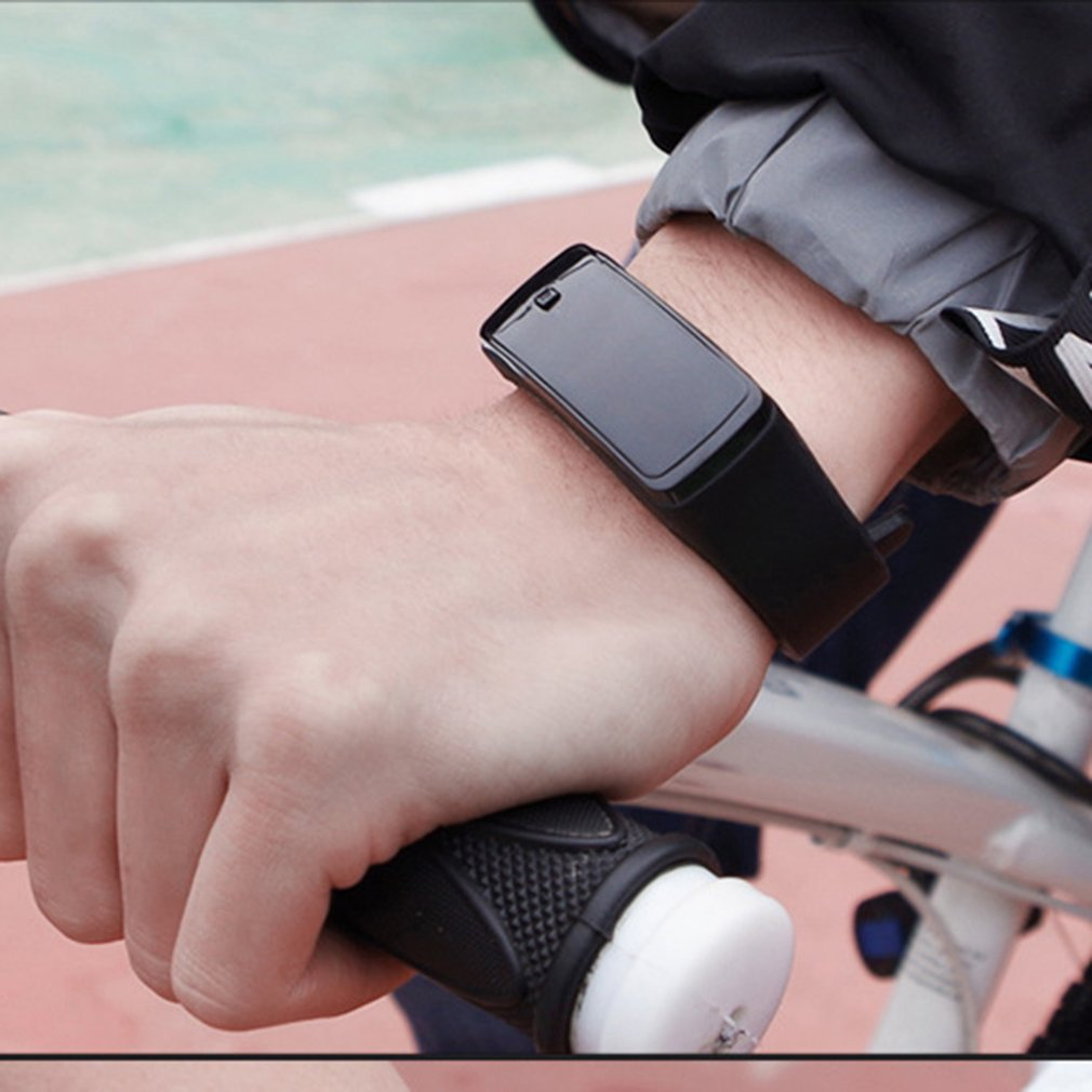 Latest LED Silicone Wristband Bracelet Sport Watch 2021
