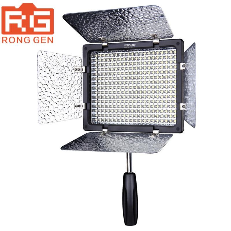 Yongnuo YN300 III YN-300 lIl 5500K CRI95+ Pro LED Video Light with Remote Control,Support AC Power Adapter & APP Remote travor flexible led video light fl 3060 size 30 60cm cri95 5500k with 2 4g remote control for video shooting