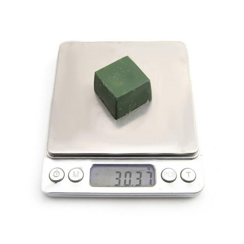 1 шт. зеленая Полировочная паста из оксида алюминия, тонкая абразивная зеленая полировка, соединение металлических ювелирных изделий, Полировочная паста, абразивная паста