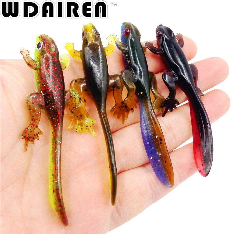 6Pcs/lot silicone soft bait Worms Fishing Lure 8cm 3.8g Smell Attractive Fish Carp Fishing Tackle Soft Fishing Lures WD-338 1set 10pcs soft silicone fishing lure bait freshwater saltwater