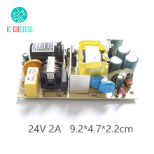 AC-DC 24V 2A Switching Power Supply Module Switch Circuit Board With IC Program Short Circuit Protection 48W 2000MA 100-240V(China (Mainland))