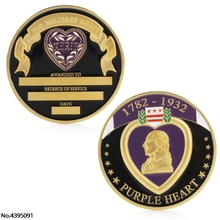 Buy purple heart coin and get free shipping on AliExpress com