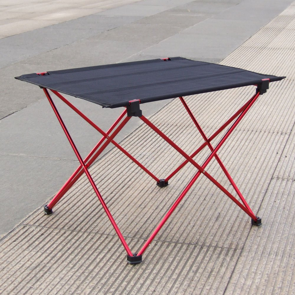 Portable Foldable Folding Table Desk Camping Outdoor Picnic 6061 Aluminium Alloy Ultra-light Folding Desk