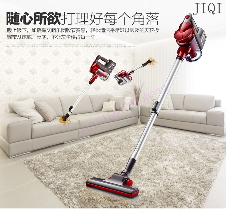JIQI Handheld vacuum cleaners Household ultra-quiet no supplies strong power vacuum small mini vacuum cleaner 600W 220V hot pushing sweeper vacuum cleaners household floor cleaner manually cleaning machine broom no need bend over no electricity