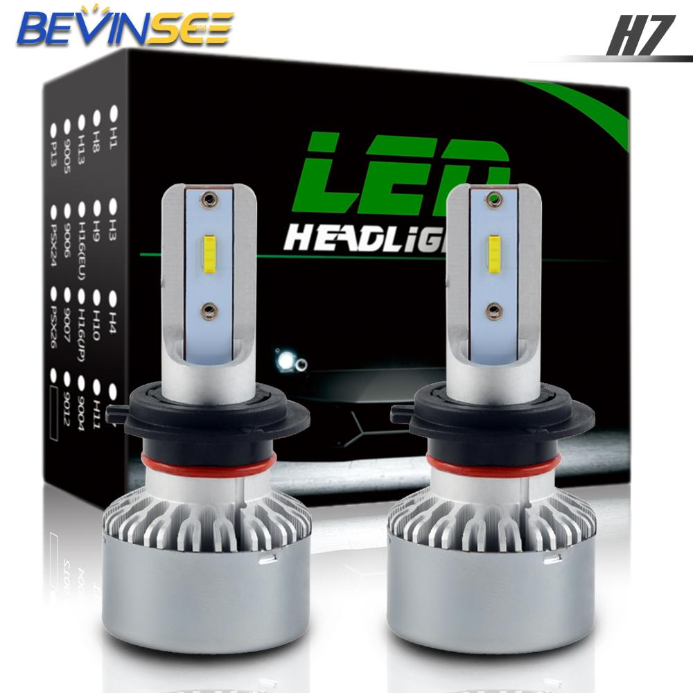 H2CNC CSP LED Headlight Bulb 60W 6000K High Low Beam For <font><b>BMW</b></font> R1200GS <font><b>R1200</b></font> <font><b>GS</b></font> <font><b>2004</b></font> - 2015 2006 2008 2010 2012 R 1200 <font><b>GS</b></font> image
