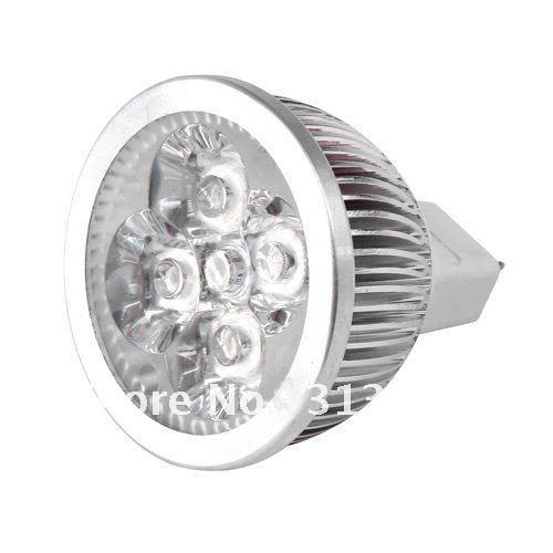 4W Warm White MR16 High Power focus LED spot Lamp 12V #1915