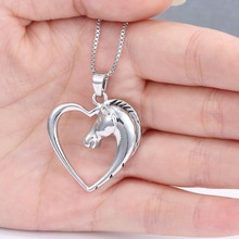 Women's Necklace with Unicorn Shaped Pendant