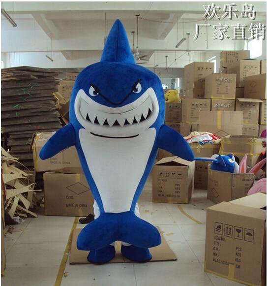 Новинка 2016, костюм акулы талисмана, костюм для взрослых, дышащий мультяшный талисман, Crewe, костюм акулы