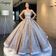 RSVPPAP Long Glitter Evening Dresses 2019 Evening Gowns
