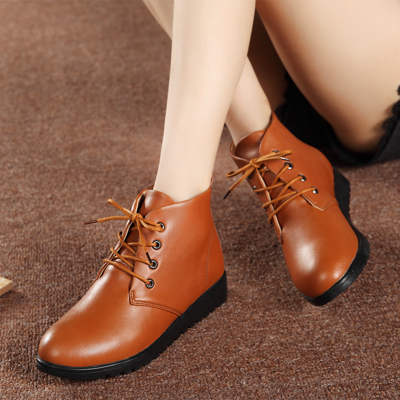 516b89bd8804c ... martin female shoes booties. . Boots women genuine leather with fur  ankle boots for women pig suede plush ladies boots for. sku: 32905311582