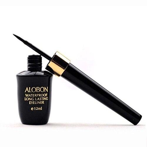 12ml Liquid Eyeliner Waterproof Eye Liner Pencil Pen Black Make Up Comestic Set