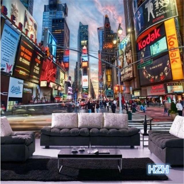 aliexpress.com : acquista personalizzato 3d photo wallpaper ... - Camera Da Letto Tema New York