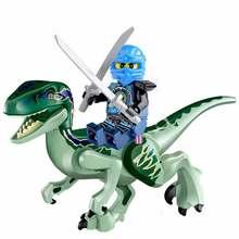 2018 Jurassic World Dinosaurs Ninjago Figures Bricks Building LegoINGlys Puzzle Blocks Original Dinosaur Toys For Children