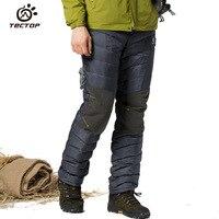 Tectop Thermal Windproof Waterproof Down Pants Winter Trousers