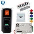 OBO RFID система контроля допуска к двери комплект 125 кГц отпечатков пальцев Биометрические + электрические магнитные электронные замки + DC12V ис...