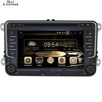 WANUSUAL 7 дюймов машинный DVD проигрыватель для VW Универсальный gps навигации Octa Core 32G Android 6,0 с BT Wifi Зеркало Ссылка 1024*600 Карты