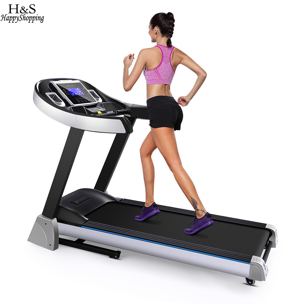 New Folding Electric Treadmill Exercise Equipment Walking