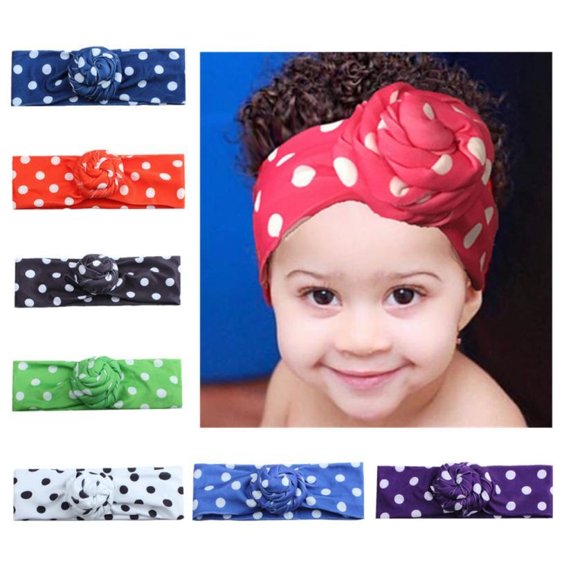 New Soft Cute Newborn Toddler Kids Baby Boy Girl Turban Cotton Beanie Headband Comfortable Touch High Quality Gift
